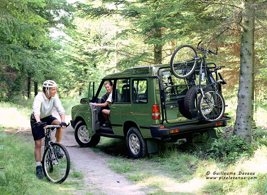 production photo Land Rover Discovery VTT